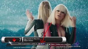 Rita Ora, me flamur të Kosovës në top-listat spanjolle