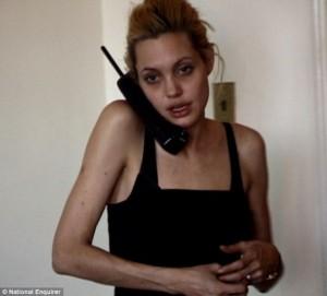 Angelina Jolie e droguar, dobësuar dhe e zbehur