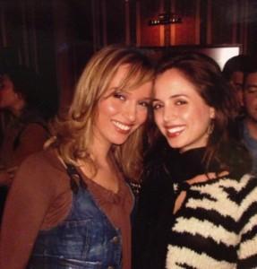 Eliza Dushku me Teuta Krasniqin në foto bashkë