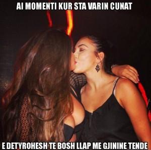 Puthja lesbike e Encës