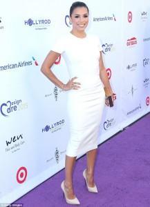 Eva Longoria shkëlqen në Los Anxhelos