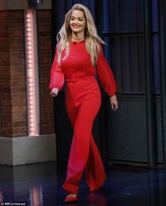 Rita Ora një 'bombë' më të kuqe
