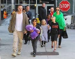 Interneti, i frikshëm për Angelina Jolie dhe Brad Pitt-in