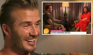 Spikerja flirton live me David Beckham