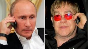 Vladimir Putin pranon të takohet me Elton John