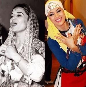 Nexhmije Pagarusha dhe Elvana Gjata si nënë e bijë