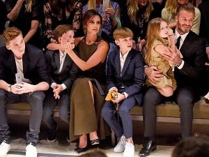 Familja Beckham më e pasur se Mbretëresha Elizabeth