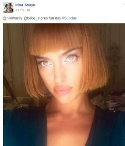 Irina Shayk ndryshon stilin e flokëve