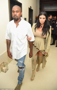 Kim Kardashian vishet njëngjyrëshe