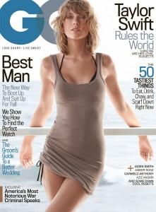 Taylor Swift pozon për kopertinën e GQ