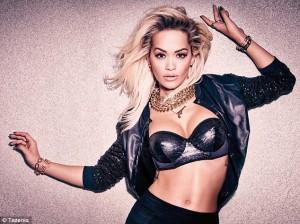 Rita Ora pozon me të brendshme për Tezenis