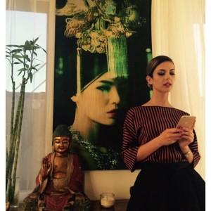 Agnesa Vuthaj në Dubai