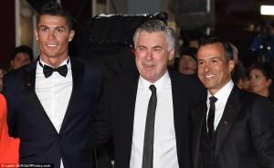 Ronaldo promovon filmin e tij në Londër