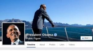 Obama i bashkohet Facebook-ut