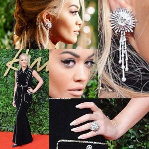 Rita Ora shkëlqen në 'British Fashion Awards'