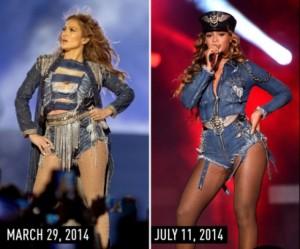 Beyonce e obsesionuar pas Jennifer Lopezit