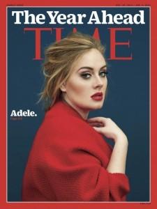 """Adele në ballinën e revistës """"Time"""""""