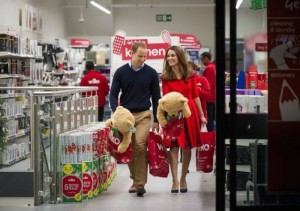 Kate Middelton dhe Princi William shopping për festa