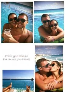 Neki Emra dhe Zana Zhaveli pushime në Meksikë