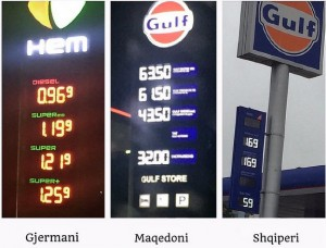 Alban Skënderaj ankohet për çmimin e naftës
