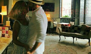 Teuta momente romantike me të dashurin