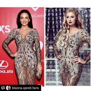 Bleona Qereti akuzon edhe Paris Hilton për kopjim