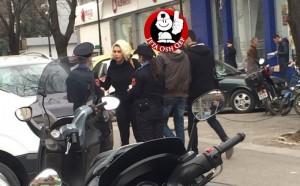 Çilejta Xhilaga përplaset me policinë