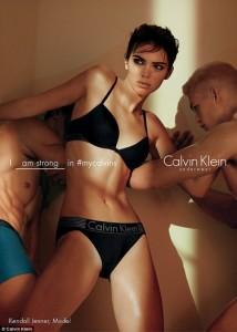 Kendall Jenner pozon për Calvin Klein