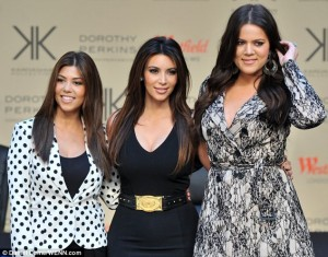 Paditen motrat Kardashian