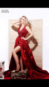Teuta Krasniqi si Marilyn Monroe në fotosesionin e ri