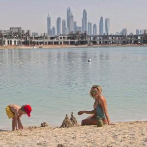 Ledina Çelo për pushime në Dubai