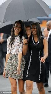 Malia Obama me fustan 45 dollarësh