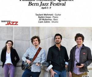 Taulant Mehmeti në Bern Jazz Festival