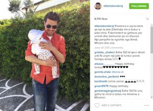 Alban Skënderaj feston një ditëlindje ndryshe nga të tjerat