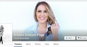 Arbana Osmani aktive në rrjete sociale, ja fotoja e saj e parë