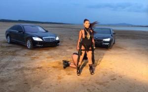 Fjolla Morina e armatosur në videoklipin e ri
