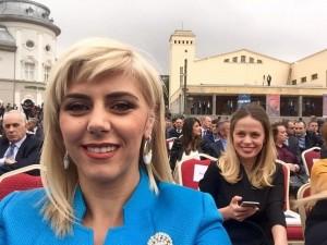 Blerta Deliun dryshon pamjen për inaugurimin e Thaçit