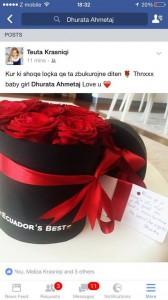 Teuta Krasniqi me Dhuratën 'diss' Bleros