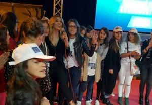 Leonora Jakupi e ndez atmosferën në Luginë të Preshevës