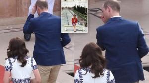 Princ William përlotet pasi pozon në të njëjtin stol si mamaja e tij