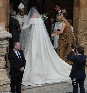 Kështu martohen vetëm princeshat