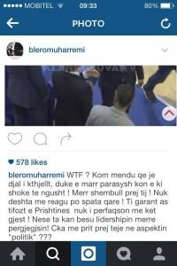 Blero reagon ashpër ndaj skandalit të Blerand Stavilevcit