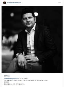 """Ermal Mamaqi i thyhet besimi: """"Bekoi Zot se nuk dinë ç'bëjnë"""