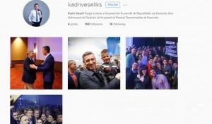 Edhe Kadri Veseli me llogari edhe në Instagram