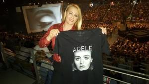 Remzie Osmani shko në koncertin e Adele