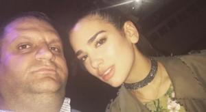 Shpend Ahmeti selfie me Dua Lipën