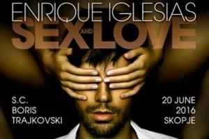 Enriko Iglesias koncert në Shkup