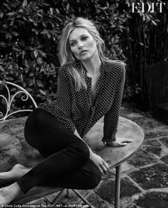Kate Moss është një nënë e rreptë