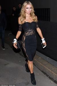 Paris Hilton del pa të brendshme