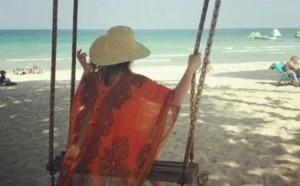 Hana Cakuli për pushime në Tajlandë